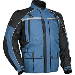 Tour Master Womens Steel Blue/Black Transition 3 Jacket - 8777-0312-76