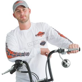 Easyriders Roadware American Legend Pocketed Long Sleeve T-Shirt - 5129XXXL