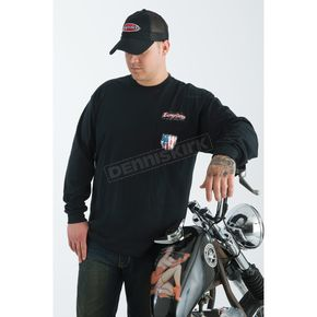 Easyriders Roadware Liberty or Death Pocketed Long Sleeve T-Shirt - 5132XXXL