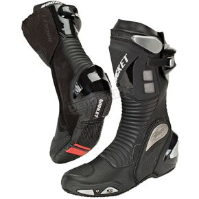 Joe Rocket Black Speedmaster 3.0 Boots - 1257-0100