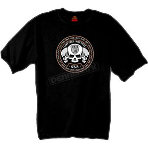 Hot Leathers Skull Trio T-Shirt - GMD1174L