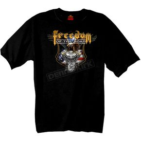 Hot Leathers Freedom Of The Road T-Shirt - GMD1025L