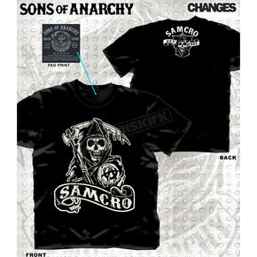 Sons of Anarchy SAMCRO 9 T-Shirt - 28-635-169BK-XXL