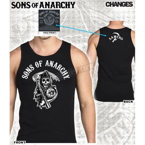 Sons of Anarchy SOA Reaper Crew Tank - 28-523-131BK-XXL