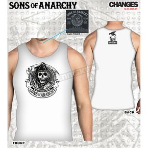 Sons of Anarchy Circle Reaper Tank - 28-523-170WH-XXL