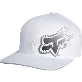 Fox White Moving Forward Flex-Fit Hat - 01407-008-L/XL