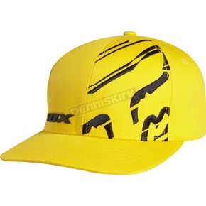 Fox Yellow Wide Load Flex-Fit Hat - 01292-005