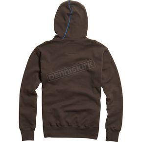 Fox Dark Brown RPM Zip Hoody - 02148-229-L