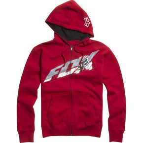 Fox Red Super Faster Zip Hoody - 02440-003-L