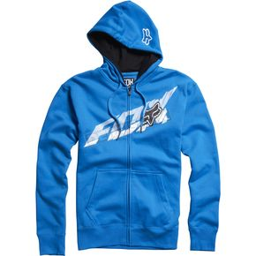 Fox Electric Blue Superfaster Zip Hoody - 02440-029-L