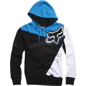Fox Electric Blue Sledge Zip Hoody - 02000