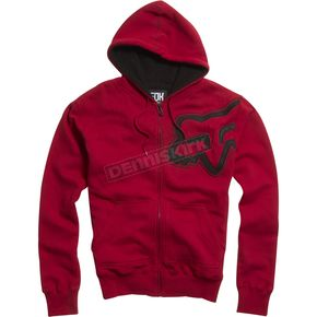 Fox Red Durban Sherpa Zip Hoody - 02149-003-L