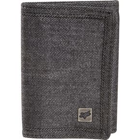 Fox Black Herring Tri-Fold Wallet - 01795-001