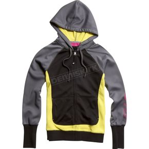 Fox Womens Lemonade Grueling Zip Hoody - 01524-375-L
