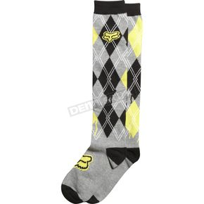 Fox Womens Heather Graphite Absent Knee High Socks - 02145-185