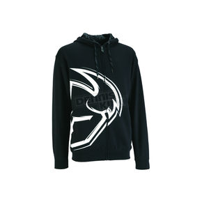 Thor Black Split Zip-Up Hoody - 30501877