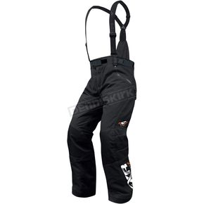 FXR Racing Black Special Elevation Waist Pants - 13180