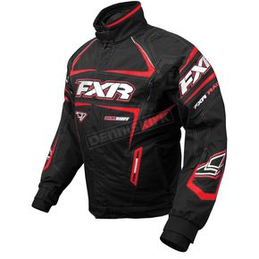 FXR Racing Black/Red Backshift Pro Jacket - 13110