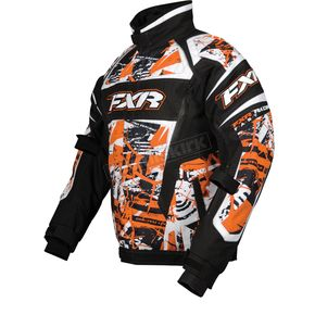 FXR Racing Orange Sabotage Helix Jacket - 13115