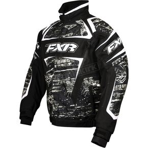 FXR Racing Black Warp Helix Jacket - 13115