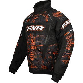 FXR Racing Orange Warp Helix Jacket - 13115