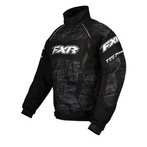 FXR Racing Charcoal Warp Helix Jacket - 13115