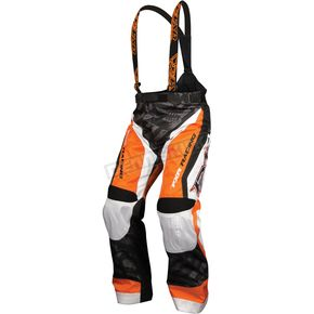FXR Racing Orange/White Stripe Cold Cross L.E. Race Pants - 13165