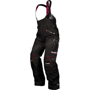 FXR Racing Womens Black/Fuchsia Adrenaline X Pants - 13255