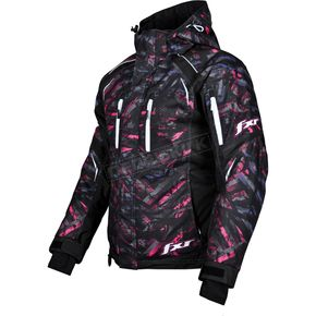 FXR Racing Womens Purple/Fuchsia Circuit Fresh Jacket - 13230
