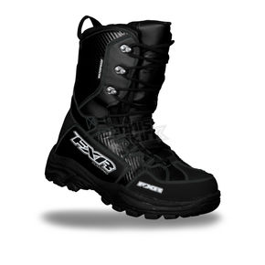 FXR Racing Black X-Cross Boots - 13515