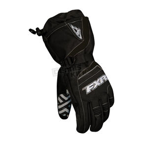 FXR Racing Black Backshift Gloves - 13605