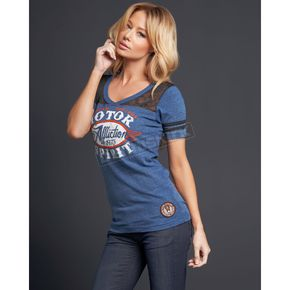 Affliction Womens Oil Change T-Shirt - AW5874-L