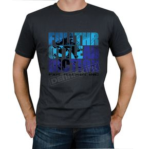 FXR Racing Charcoal/Blue FTA Rider T-Shirt - 2931