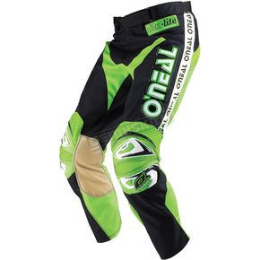 O'Neal Black/Green Ultra-Lite LE '83 Pants - 0138