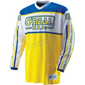 O'Neal Blue/Yellow Ultra-Lite LE '83 Jersey - 0088