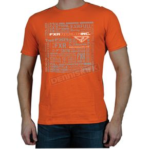 FXR Racing Orange Cube T-Shirt - 2926