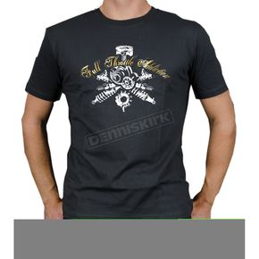 FXR Racing Charcoal Gears T-Shirt - 2927