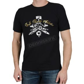 FXR Racing Black Gears T-Shirt - 2927