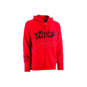 Thor Red Primo Zip-Up Hoody - 3050-1903