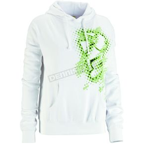 Thor Womens White Blurr Pullover Hoody - 30510606
