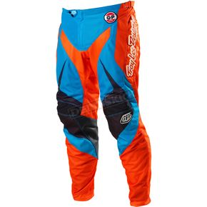 Troy Lee Designs Blue/Orange GP Air Mirage Pants - 0523-2330