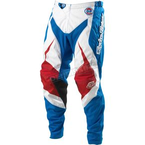 Troy Lee Designs Blue Grand Prix Mirage Pants - 0543-0328