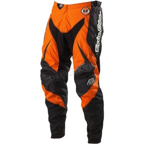 Troy Lee Designs Orange/Black Grand Prix Mirage Pants - 0543-0728