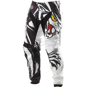 Troy Lee Designs White Grand Prix Predator Pants - 0543-2128