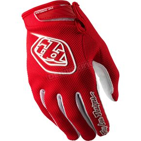 Troy Lee Designs Red Air Gloves - 0623-0410