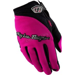 Troy Lee Designs Pink XC Gloves - 0663-0010