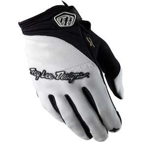 Troy Lee Designs White XC Gloves - 0663-0110