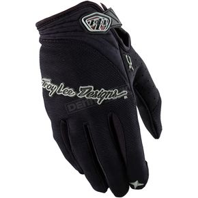 Troy Lee Designs Black XC Gloves - 0663-0210