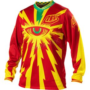 Troy Lee Designs Red GP Air Cyclops Jersey - 0723-0410