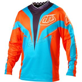 Troy Lee Designs Blue/Orange GP Air Mirage Jersey - 0723-2308